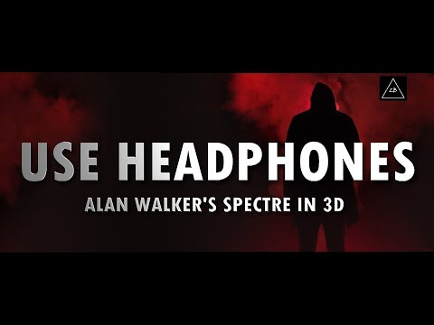 3d audio (Bass Boosted) | Alan Walker's - The Spectre in 3d Sound | Lazy Boys Productions
