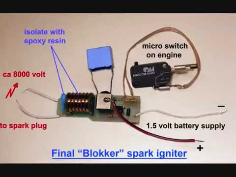 hqdefault homemade miniature spark ignitor youtube Piezo Wiring Diagram to Ademco at soozxer.org