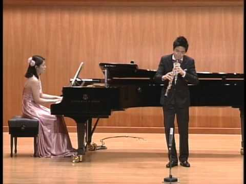 Camille Saint-Sans Sonata for Oboe and Piano in D Major, Op.166