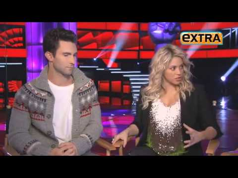 the voice season 4 shakira adam usher 2013