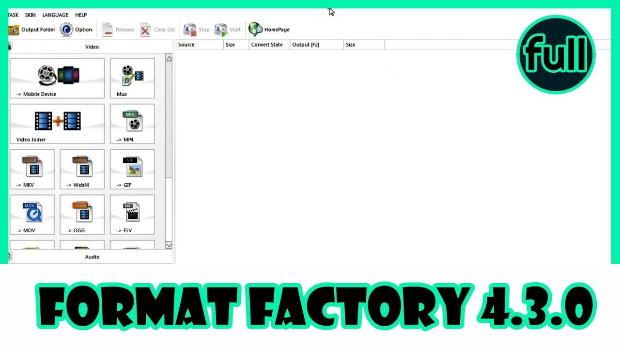 Format Factory 4.3.0 | Hướng Dẫn Sử Dụng Phần Mềm Format Factory Trong 20 Phút