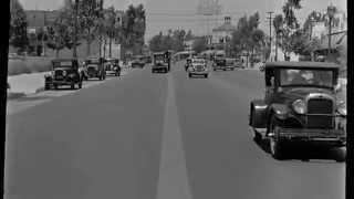 Beverly Hills, California Street Scene, ca  1935 Ten Thousand Years Ago