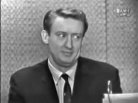 What's My Line?  Tom Poston; David Niven panel Jan 3, 1960 UPGRADE