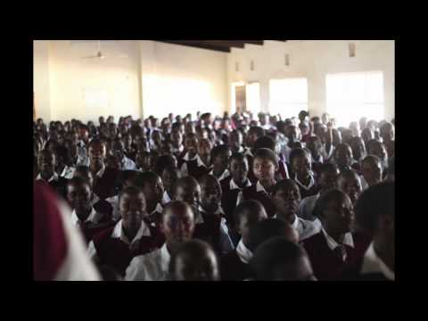African Girls High School Worshiping - I Know Whom I Have Believed In