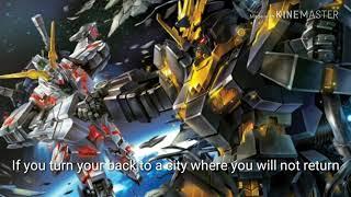 Gundam Unicorn (mad Amv ) Unti-L:sawano Hiroyuki (ENG SUB)