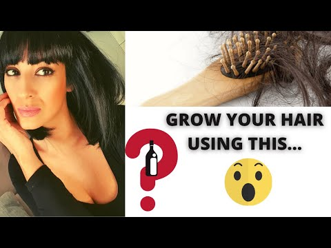 HOW TO GROW THICK AND SHINY HAIR FAST using THIS HOME REMEDY ❤️  Get Rid Off DANDRUFF