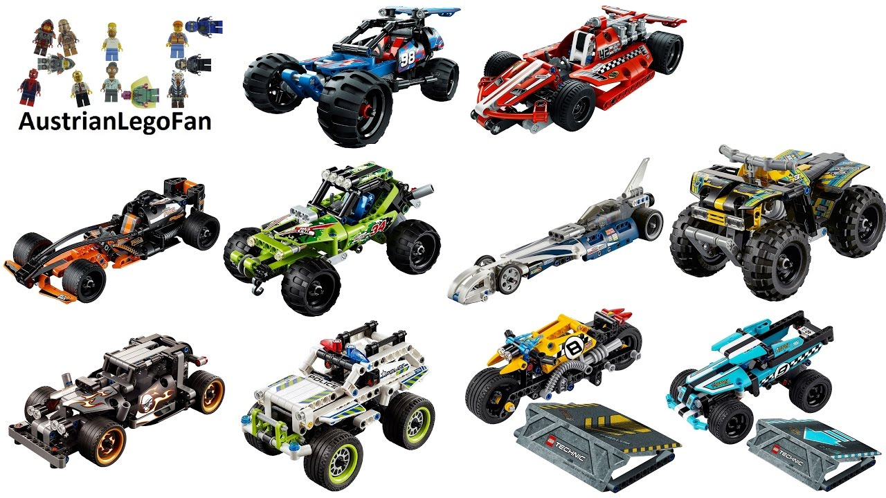 All Lego Technic Action Cars Ever Made Sd Build Review