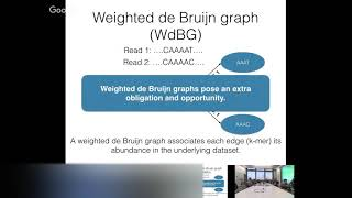 deBGR: An Efficient and Near Exact Representation of the Weighted deBruijn Graph