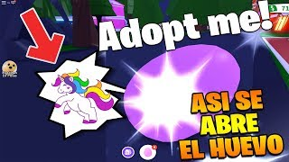 HOW TO OPEN YOUR PET EGG IN ADOPT ME! - ROBLOX