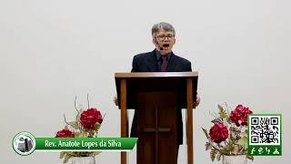 A mente de Cristo - I Cor. 2 6-16 -  Rev. Anatote Lopes -  04/10/2020