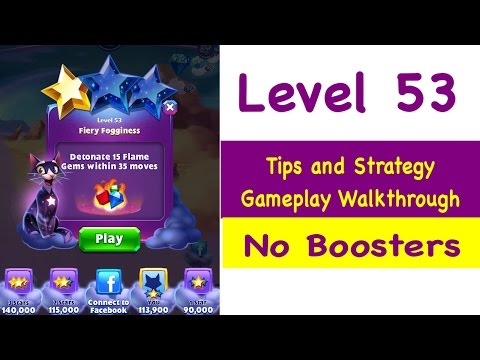 Bejeweled Stars Level 57 Tips and Strategy Gameplay