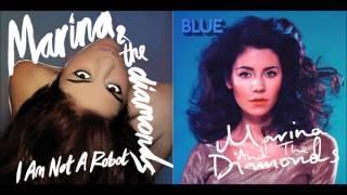 I Am Not Blue - Marina and the Diamonds - Mashup