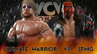 WWE 2K17: Ultimate Warrior vs Sting