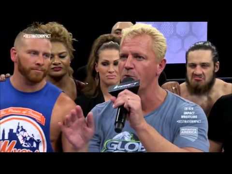 (720pHD): iMPACT Wrestling 2015: Dixie Carter & Karen Jarrett