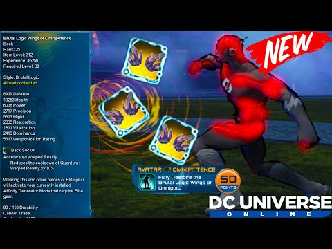 DCUO I *NEW*
