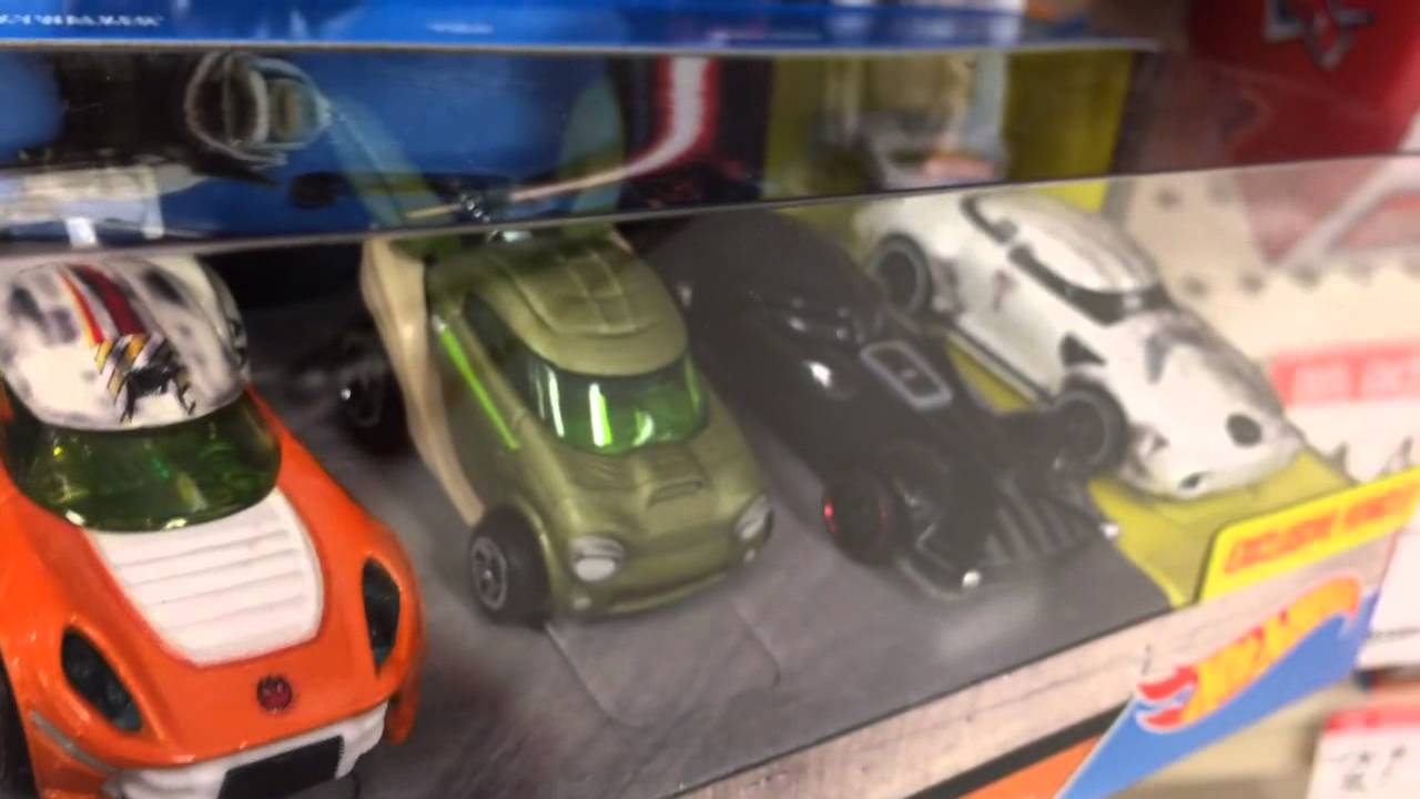 Hot Wheels Star Wars 5-Pack Spotted! (Target Exclusive Featuring the Stormtrooper!)