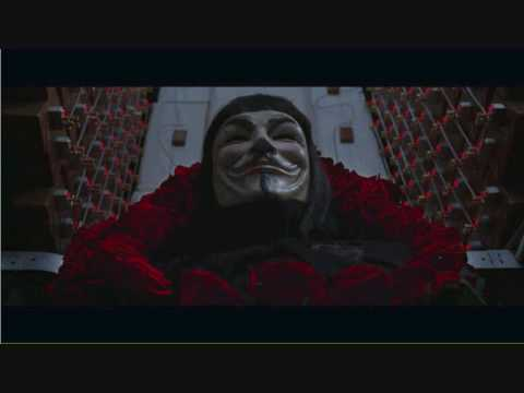 V for VENDETTA Final scene