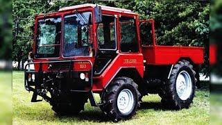 Необычный трактор МТЗ ШУ-356, вы вряд ли такой видели / Трактора СССР