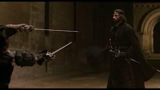 Испанское фехтование. Эпизод фильма ''Капитан Алатристе''