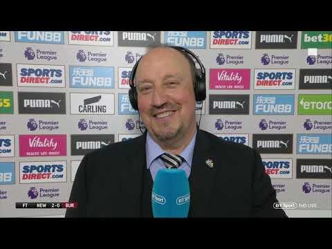 """I've spoken to Mike Ashley."" - Rafa Benitez cryptic on Newcastle future."