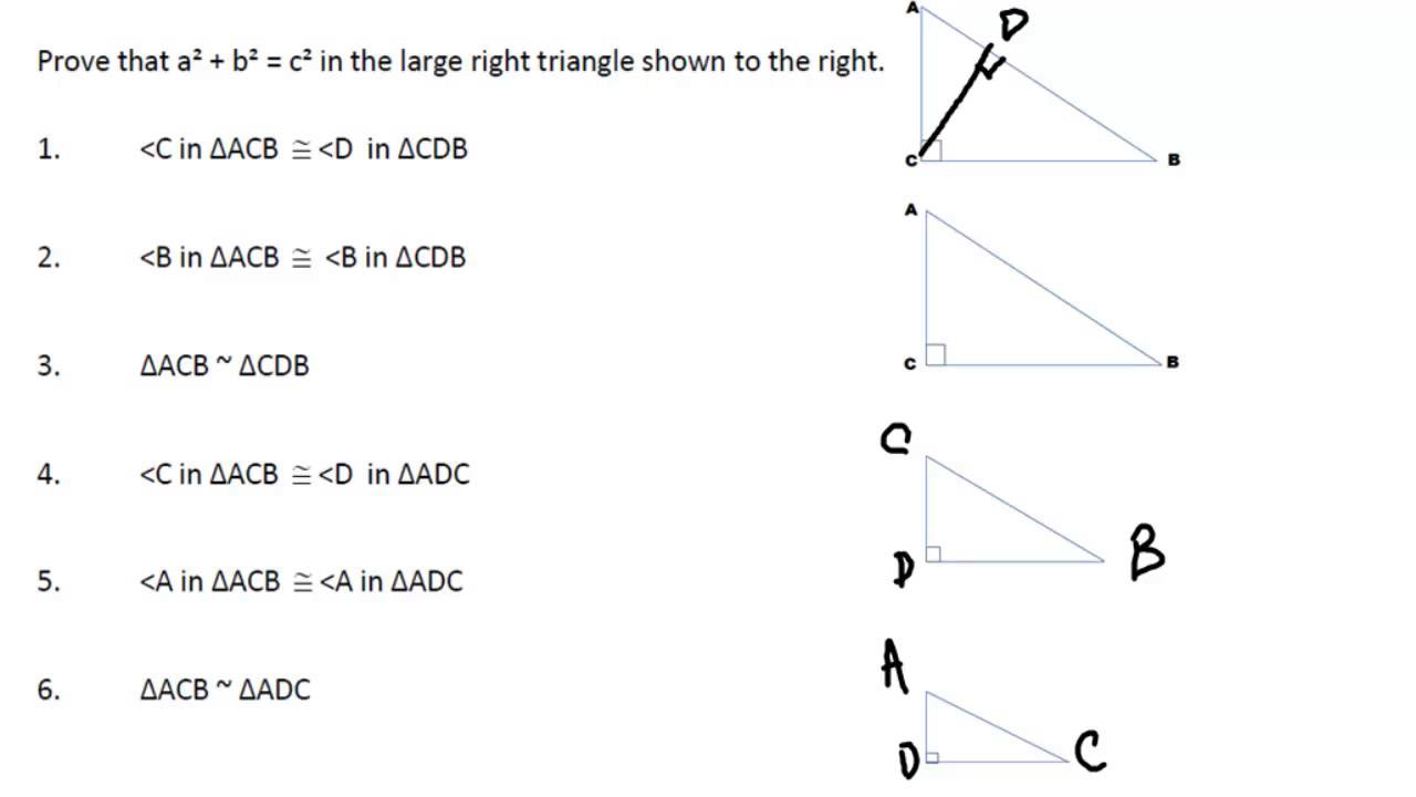 how to draw triangles when solving a triangle
