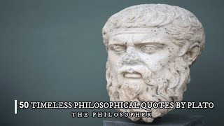 Gambar cover 50 TIMELESS Philosophical Quotes By PLATO