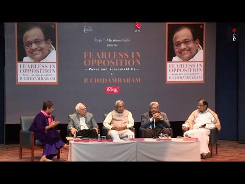 Nitish Kumar, Sitaram Yechury, Kapil Sibal In An Engaging Discussion At P Chidambaram's Book Launch