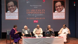 Nitish Kumar, Sitaram Yechury, Kapil Sibal In An Engaging Discussion At P Chidambaram's Book Launch