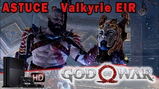 GOD OF WAR - ASTUCE [PS4] Valkyrie EIR