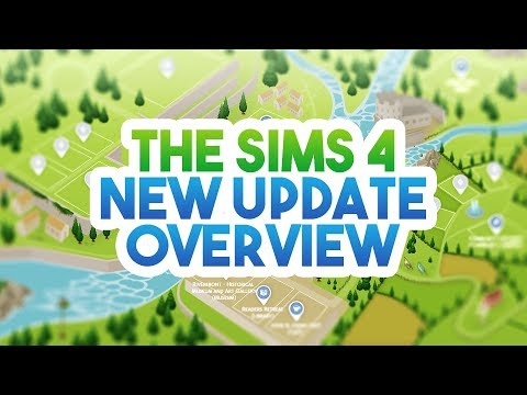 NEW UPDATE/PATCH OVERVIEW! // The Sims 4: News & Info