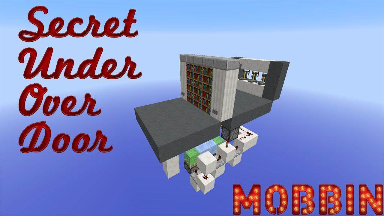 Minecraft Secret Over Under Door Youtube Toolbar Creator Galleries Related Monostable Circuit