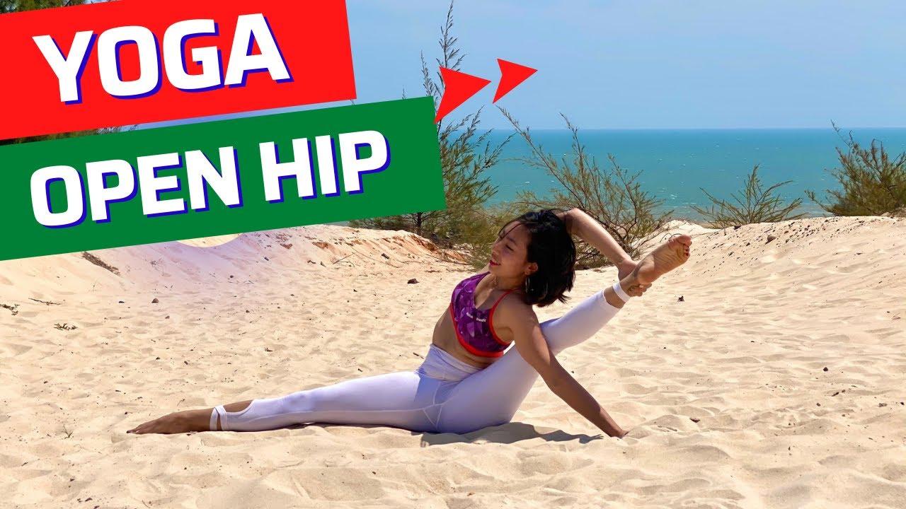 [ADVANCED YOGA] Yoga Nâng cao mở háng an toàn – Xoạc ngang – xoạc dọc | Luna Thái |