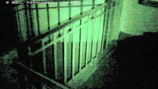CON-TACT Paranormal activity at the Haunted Riviera Theatre real ghost footage paranorbill