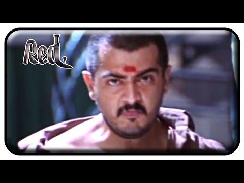Red Tamil Movie Scenes | Ajith saving a lady from Doctor | Raghuvaran | Deva