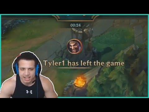 TYLER1 RAGE QUIT IN LCS SHOWMATCH AND REFUSES TO SHAKE HANDS WITH IMAQTPIE LoL Daily Moments Ep #203