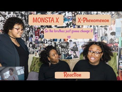 MONSTA X X-PHENOMENON REACTION