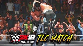 AJ İLE TLC MAÇ STİLLERİ!   WWE 2K19 MyCareer Yan Maçlar
