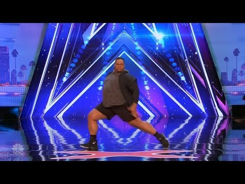 America's Got Talent 2017 Baby Got Back Oscar Hernandez Full Audition S12E03