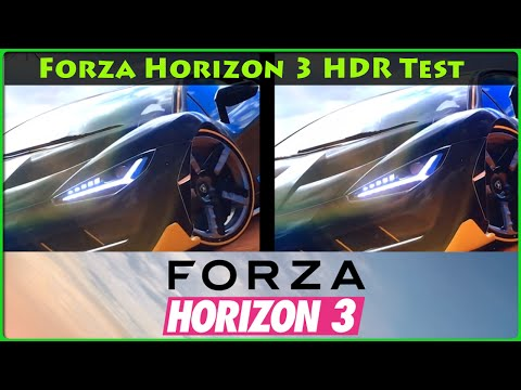 Forza Horizon 3 - HDR Test XboxOneS