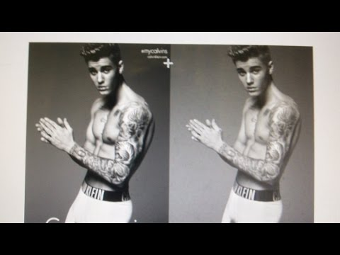 Justin Bieber's Photoshopped Calvin Klein Pic?: My Thoughts