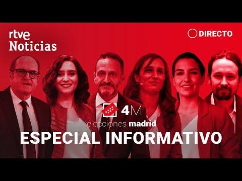 #Especial4mRTVE ELECCIONES MADRID: '4M. Madrid decide' | RTVE Noticias