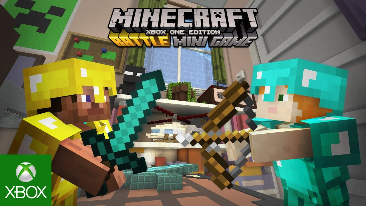 Minecraft: Xbox One Edition - Battle Map Pack 4