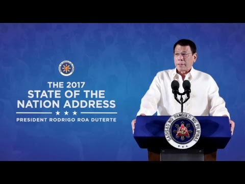 2017 State of the Nation Address