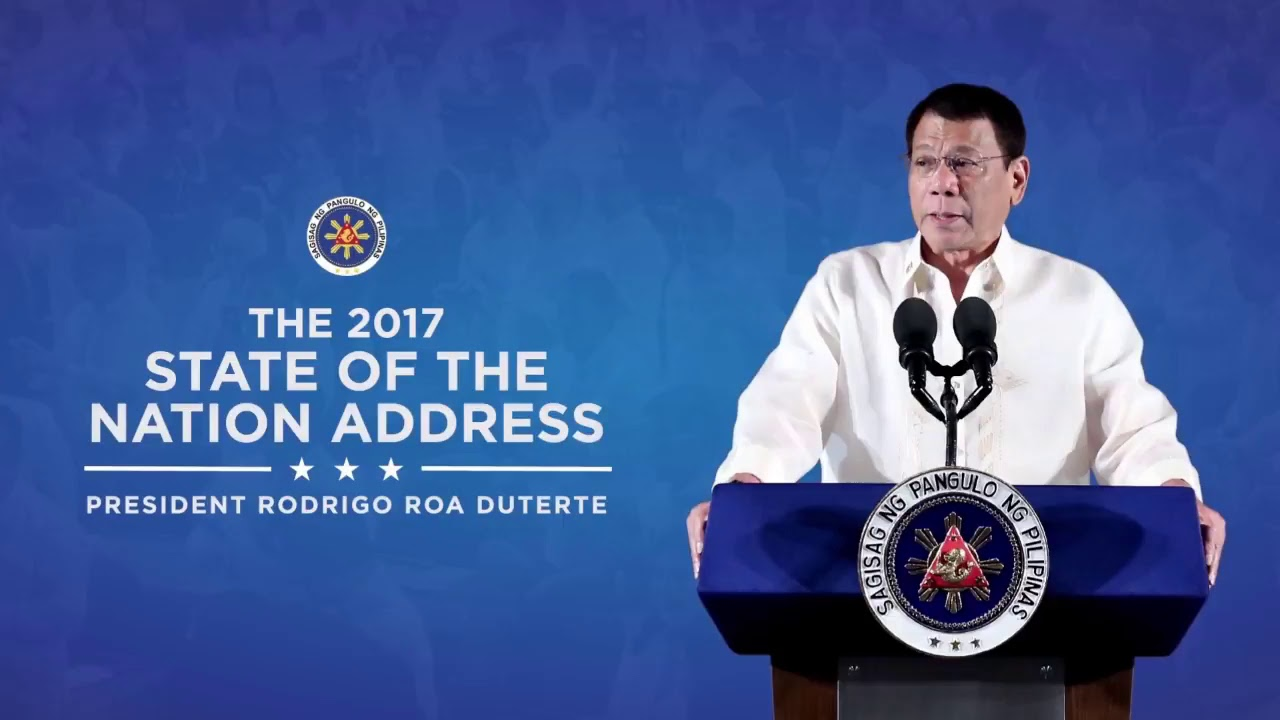 2017 State Of The Nation Address Youtube