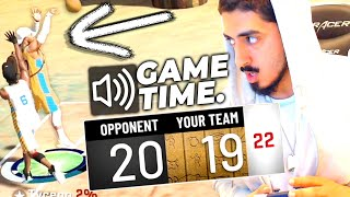 I HIT A GAME WINNER 3 TO WIN BASKETBALL GODS in NBA2K20! (WORLD'S HARDEST PARK EVENT)