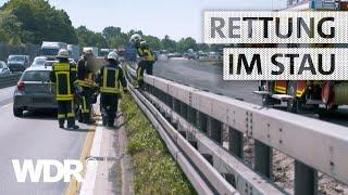 Feuer & Flamme   Verkehrsunfall auf der A42 - Auffahrt Heßler   WDR