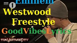 Download Eminem - Freestyle Tim Westwood Traduction Française MP3 song and Music Video