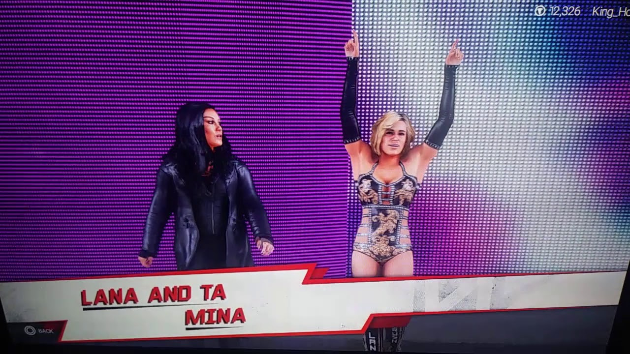 WWE Lana hot Ass SS2015 on Make a GIF