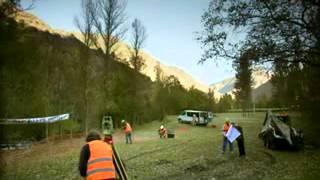 Video Backhoe Optimal in a TV serie