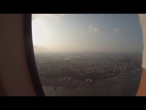 View of NYC from the air (full version)